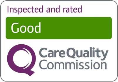 care quality comission rated good logo